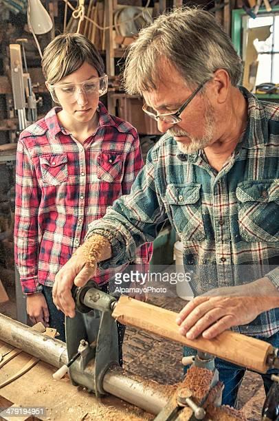 学習 woodworking スキル