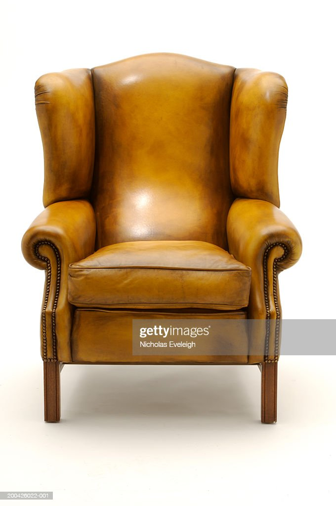 Leather chair : Stock Photo