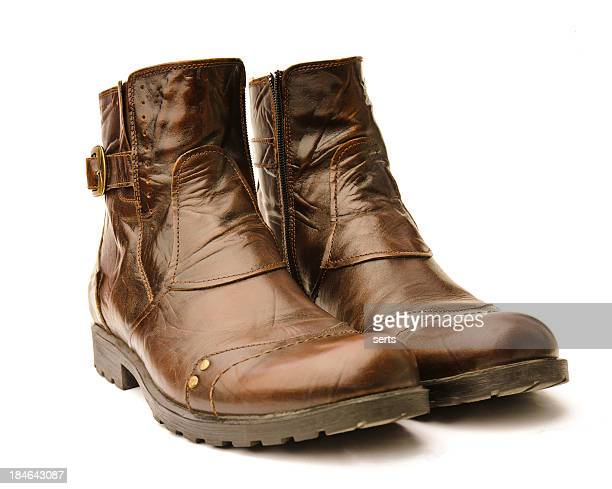 Leather hiking boots XXXLarge