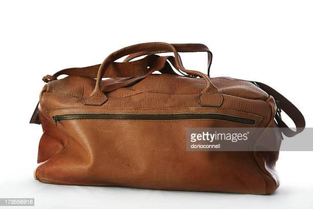 Leder-Gepäck