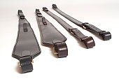 Leather rifle slings
