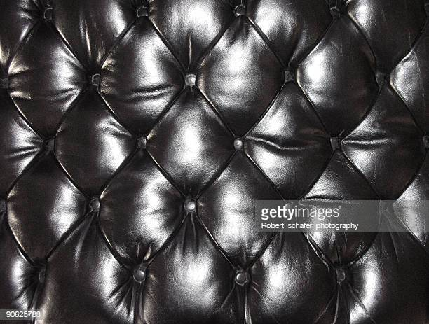 Leather Seat Cushion - Black