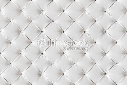 Leather Sofa Texture Seamless Background White Leathers Upholstery Pattern Stock Photo