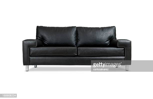 Leather Sofa w/Clipping Path