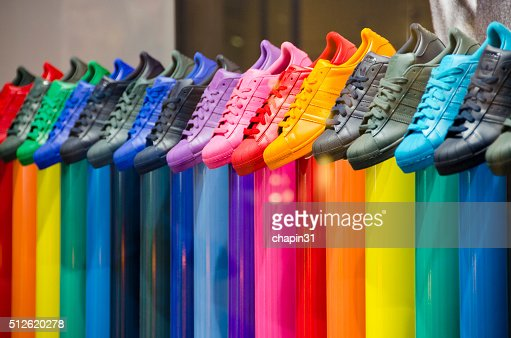 Leather Tennis Shoes of All Colors