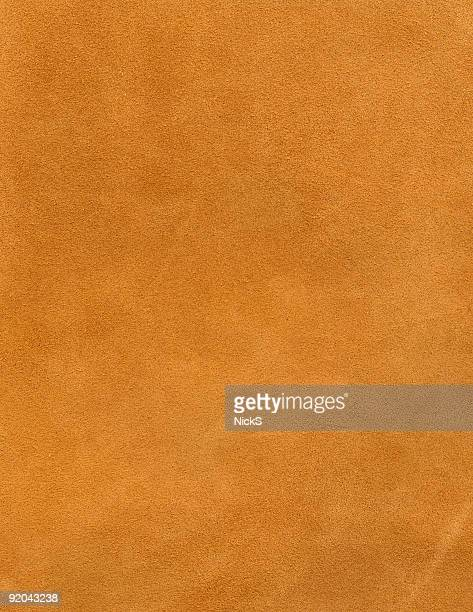 Leather Texture: Brown Suede