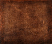 piece of brown leather detail