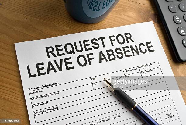 Leave of Absence request