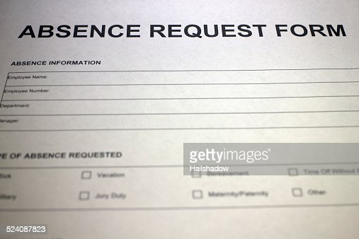 Leave Request Form Stock Photo  Thinkstock