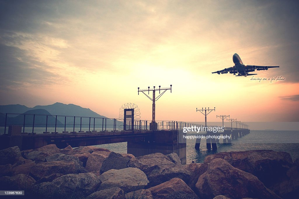 Leaving on jet plane