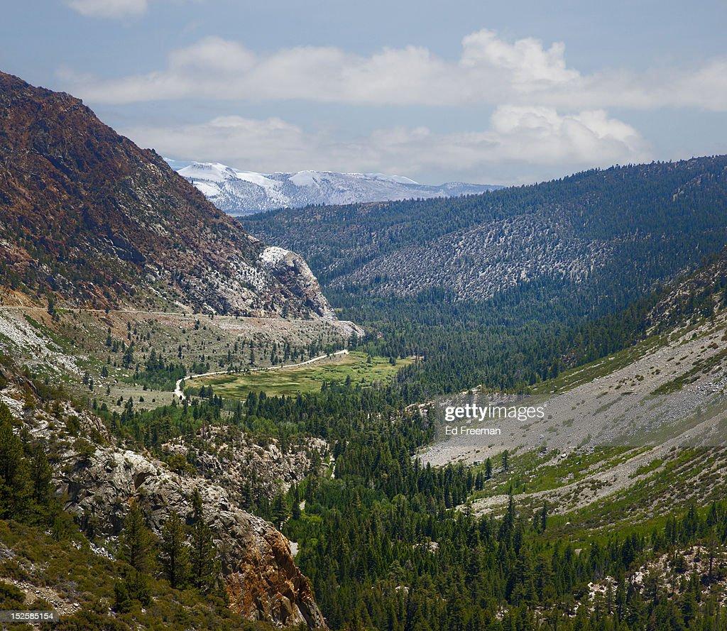 Leaving Yosemite National Park : Stock Photo