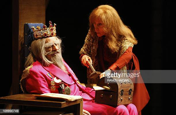 Lebanese diva Fairuz playing the role of the rebellious village woman Qronfol steals the stamp of the sleeping king played by Lebanese veteran actor...