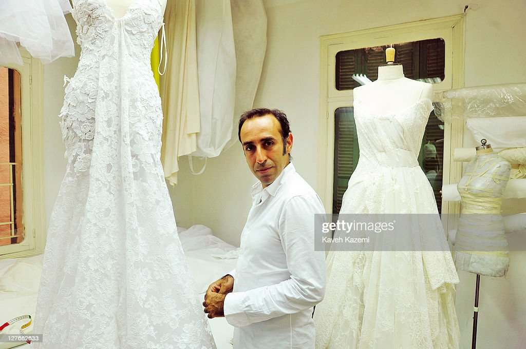 Lebanon 39 s fashion designers getty images for Lebanese wedding dress designers