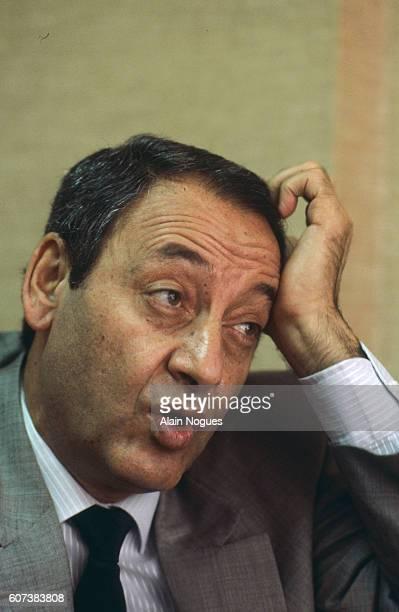 Lebanese Minister of Justice Nabih Berri