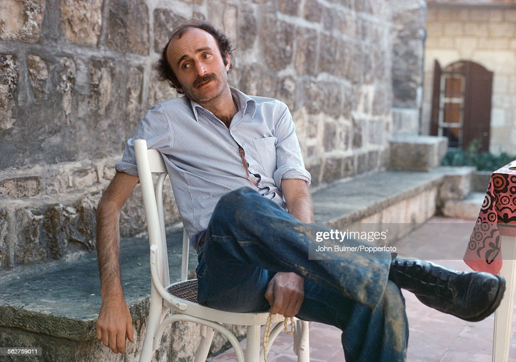 Lebanese politician <a gi-track='captionPersonalityLinkClicked' href=/galleries/search?phrase=Walid+Jumblatt&family=editorial&specificpeople=228719 ng-click='$event.stopPropagation()'>Walid Jumblatt</a>, leader of the Progressive Socialist Party, in Beirut, Lebanon, 1979. The Progressive Socialist Party is predominantly supported by followers of the Druze faith.