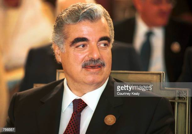 Rafiq Hariri Stock Photos And Pictures Getty Images