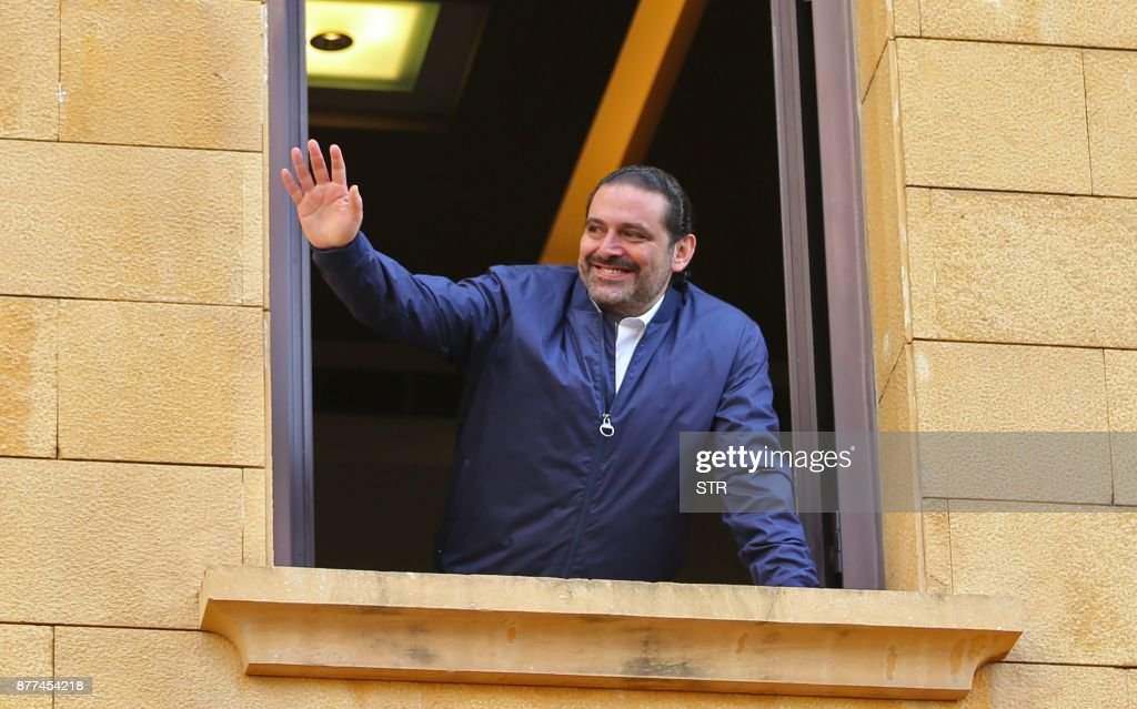 Lebanon's Prime Minister Hariri  Returns To Lebanon After Shock Resignation
