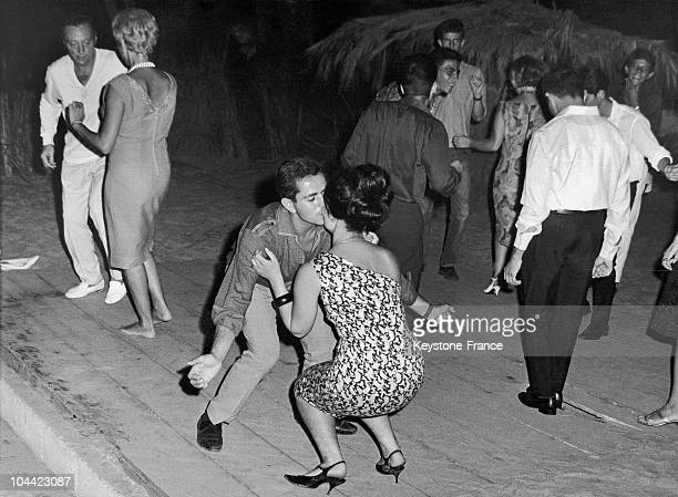 Lebanese Youths Doing The Twist In A Cabaret In Beirut Around 1968