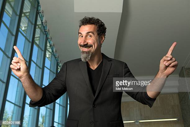 Lebaneseborn ArmenianAmerican singersongwriter composer multiinstrumentalist record producer poet and political activist Serj Tankian is photographed...