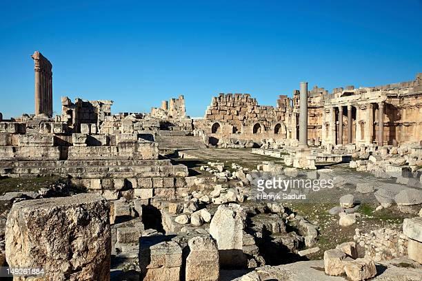 Lebanon, Baalbek, Ancient ruins