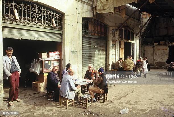 Beirut Reunited Beyrouth Liban 19901991 La vie a repris dans Beyrouth réunifiée près de deux mois après la reddition du général Aoun le 13 octobre...