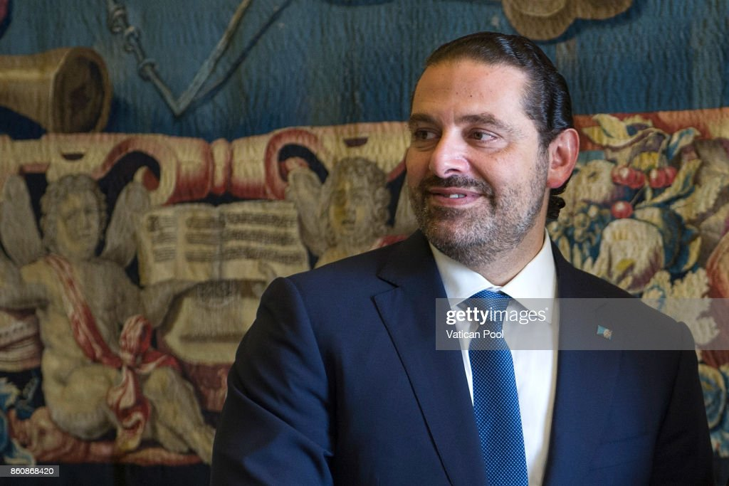 Pope Francis Meets the Lebanon Prime Minister Saad Hariri