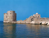 Lebanon Sidon Sea Castle built on a Phoenician temple dedicated to Melkart