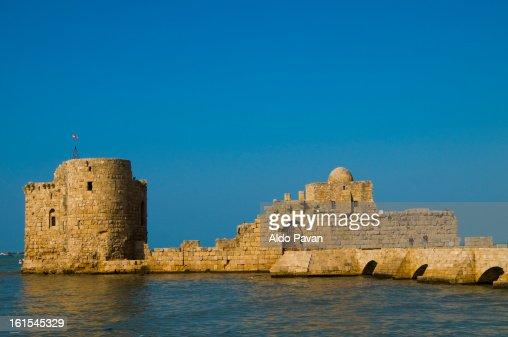 Lebanon, Sidone, Saida, Sea Citadel