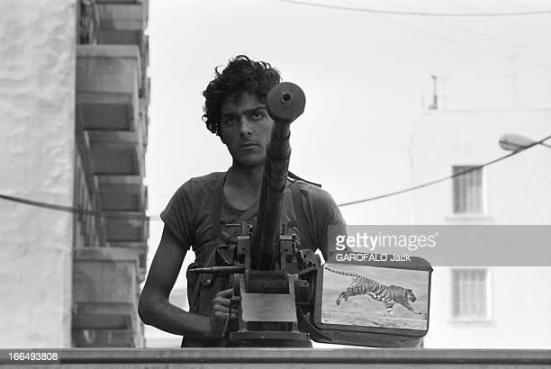 States Conflict With Syria Beyrouth 9 octobre 1978 Guerre du Liban conflit entre Israël la Palestine la Ligue des Etats arabes et la Syrie un jeune...