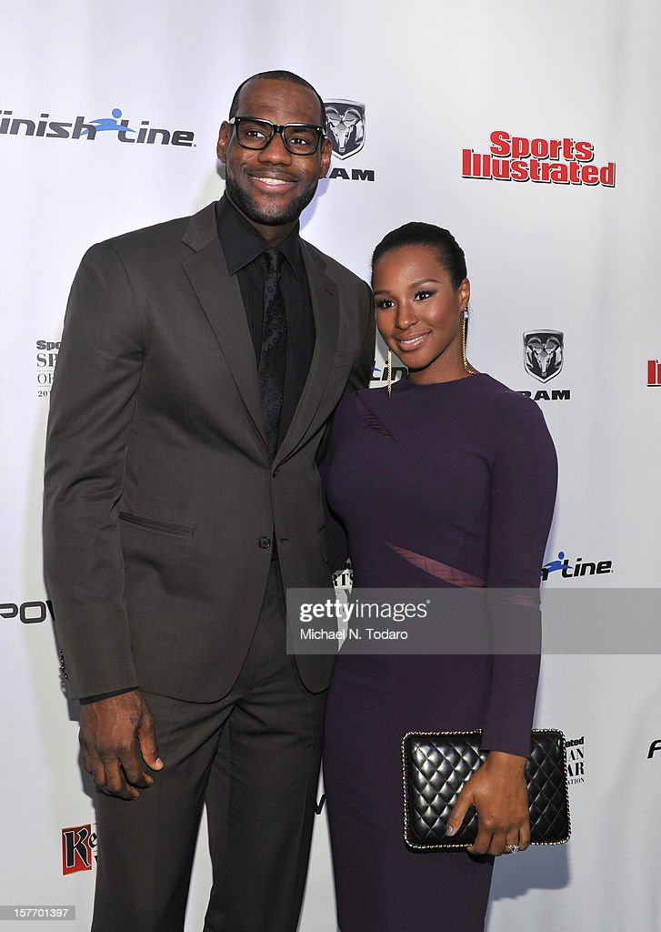 <a gi-track='captionPersonalityLinkClicked' href=/galleries/search?phrase=LeBron+James&family=editorial&specificpeople=201474 ng-click='$event.stopPropagation()'>LeBron James</a> and <a gi-track='captionPersonalityLinkClicked' href=/galleries/search?phrase=Savannah+Brinson&family=editorial&specificpeople=4319994 ng-click='$event.stopPropagation()'>Savannah Brinson</a> attend the 2012 Sports Illustrated Sportsman of the Year award presentation at Espace on December 5, 2012 in New York City.