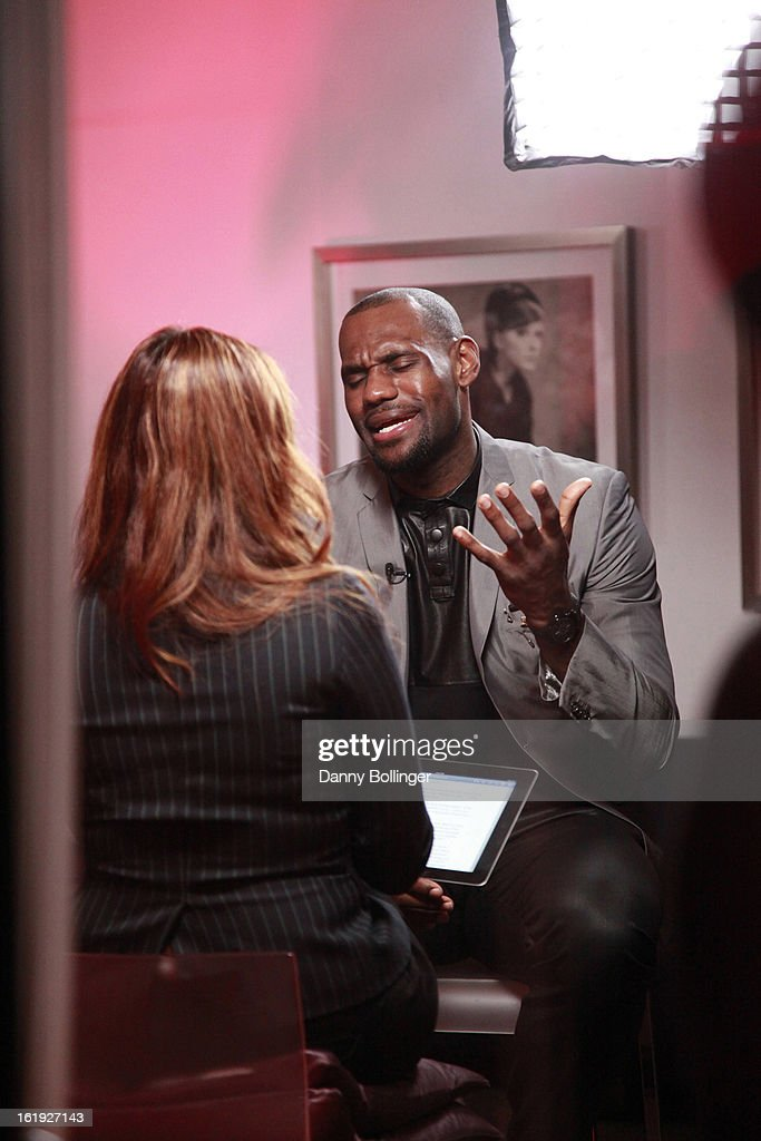 Lebron James attends <a gi-track='captionPersonalityLinkClicked' href=/galleries/search?phrase=LeBron+James&family=editorial&specificpeople=201474 ng-click='$event.stopPropagation()'>LeBron James</a>, Believe Entertainment Group And Spring Hill Prods. Host All-Star Celebration To Kick Off Season Two Of 'The LeBrons' at Hudson Lounge on February 15, 2013 in Houston, Texas.