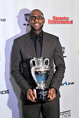 LeBron James attends the 2012 Sports Illustrated Sportsman of the Year award presentation at Espace on December 5 2012 in New York City