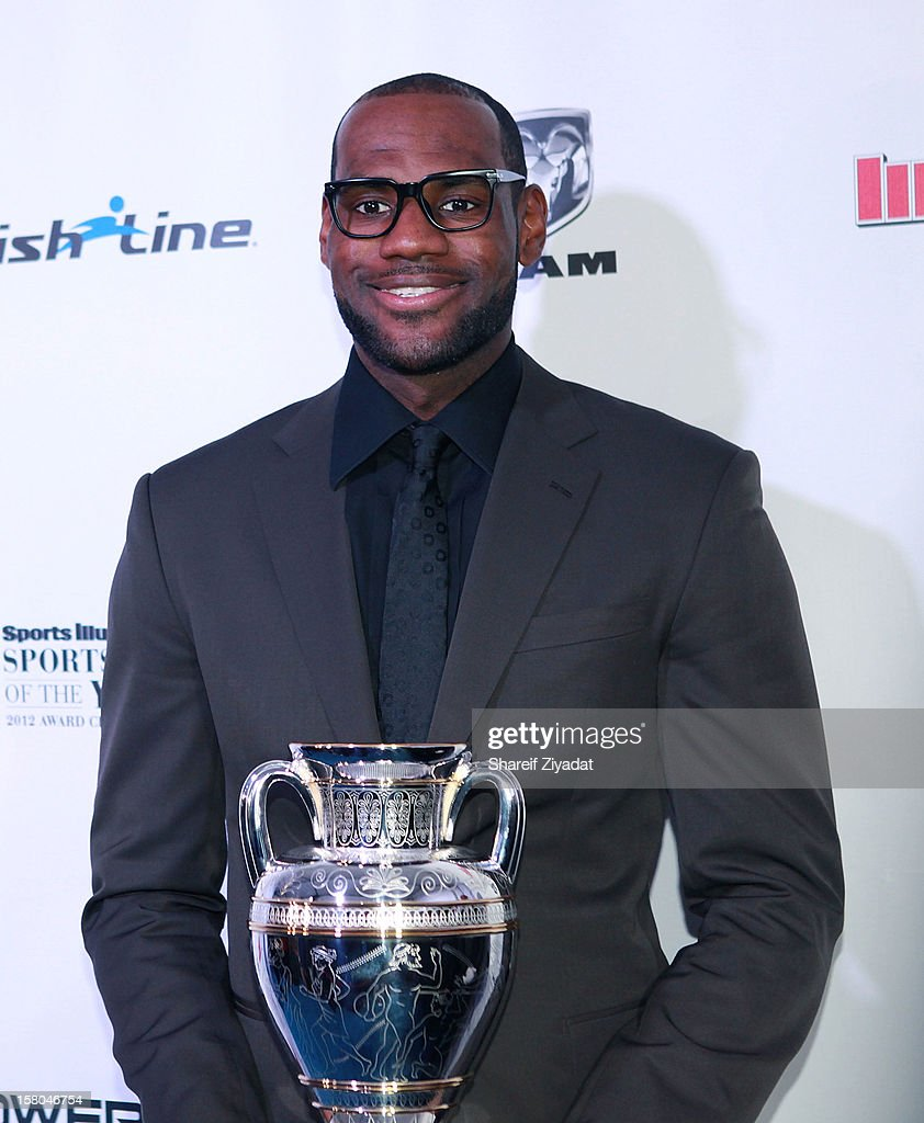 Lebron James attends the 2012 Sports Illustrated Sportsman of the Year award presentation at Espace on December 5, 2012 in New York City.