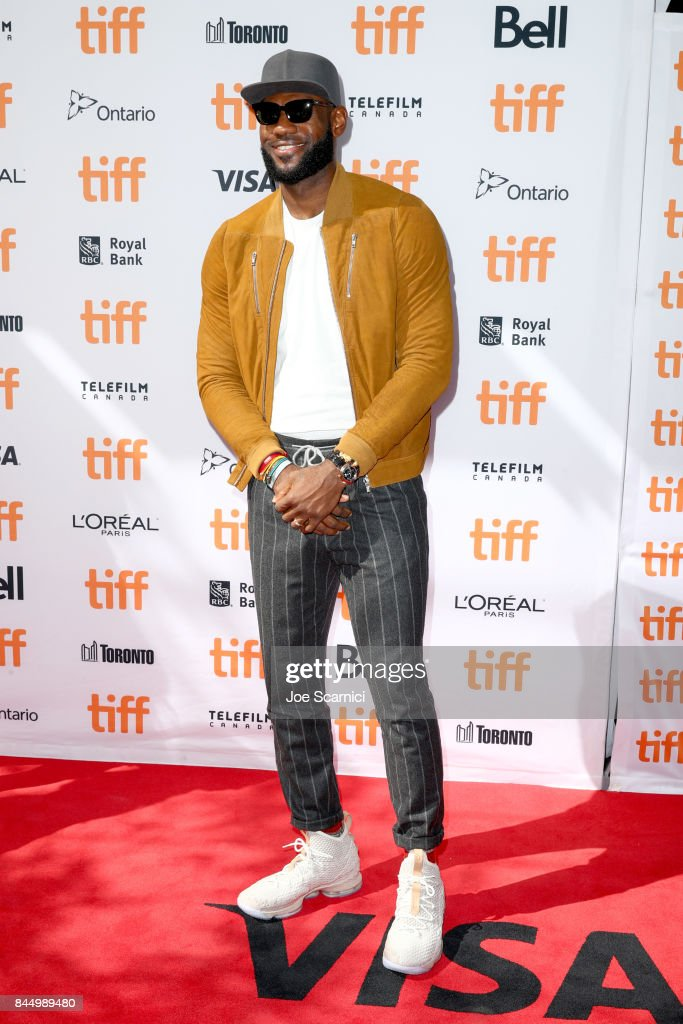 LeBron James attends 'The Carter Effect' premiere during the 2017 Toronto International Film Festival at Princess of Wales Theatre on September 9, 2017 in Toronto, Canada.