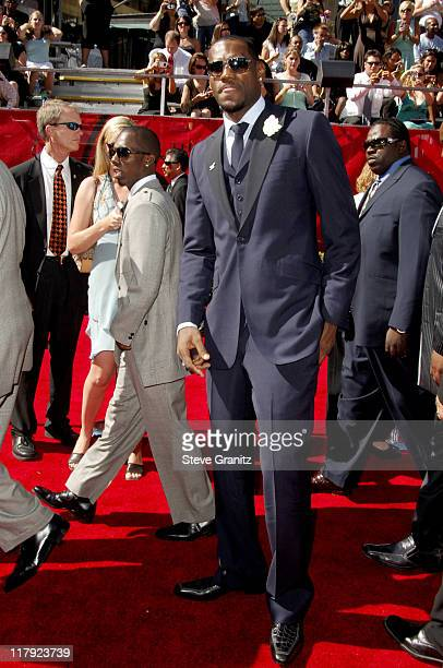 LeBron James during 2006 ESPY Awards Arrivals at Kodak Theatre in Los Angeles California United States