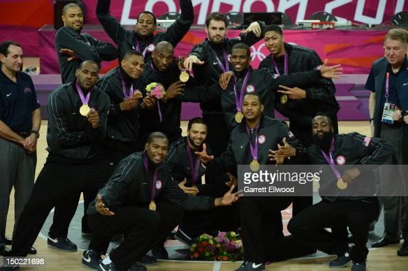 LeBron James Kevin Durant Tyson Chandler Russell Westbrook Andre Iguodala Deron Williams Kobe Bryant Chris Paul Kevin Love Carmelo Anthony Anthony...