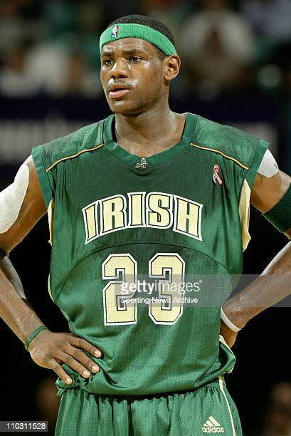 lebron james high school stock photos and pictures getty
