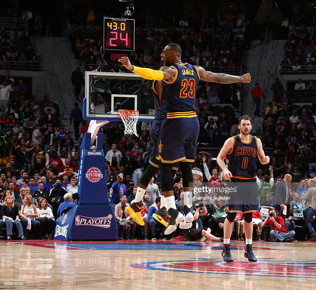 Cleveland Cavaliers V Detroit Pistons - Game Three