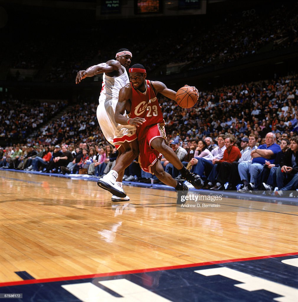 Cleveland Cavaliers v New Jersey Nets s and