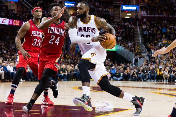 New Orleans Pelicans v Cleveland Cavaliers : Fotografía de noticias