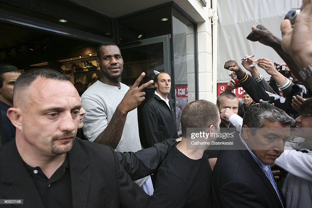 lebron james en france
