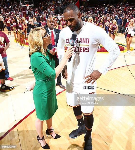 Denver Nuggets Vs Golden State Warriors Game 6 Score: Doris Burke Stock Photos And Pictures