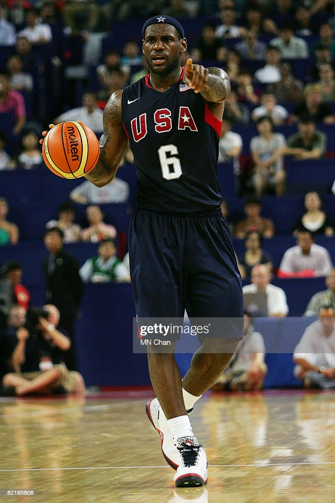 lebron usa. lebron james #6 of the usa basketball men\u0027s senior national team dribbles during lebron usa
