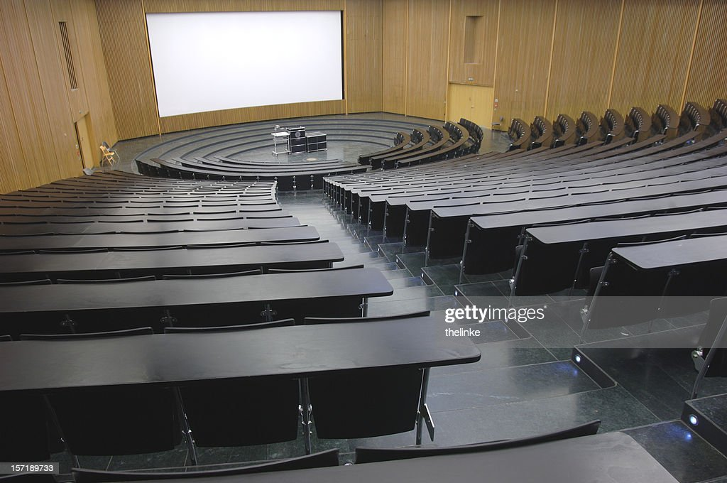 lecture hall 2 : Stock Photo