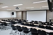 Lecture Hall, Classroom, University, Campus, Desk