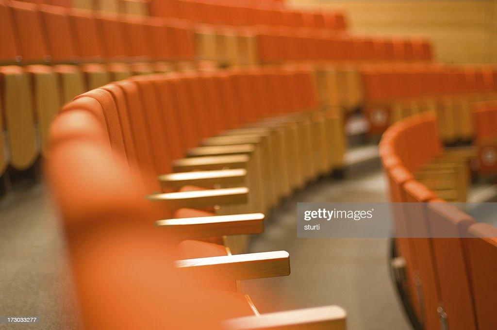lecture theatre : Stock Photo