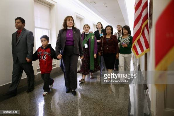 Led by United Methodist Los Angeles Episcopal Area Bishop Minerva Carcano Ismael Flores and his son Emanuel Flores of White Plains New York join...