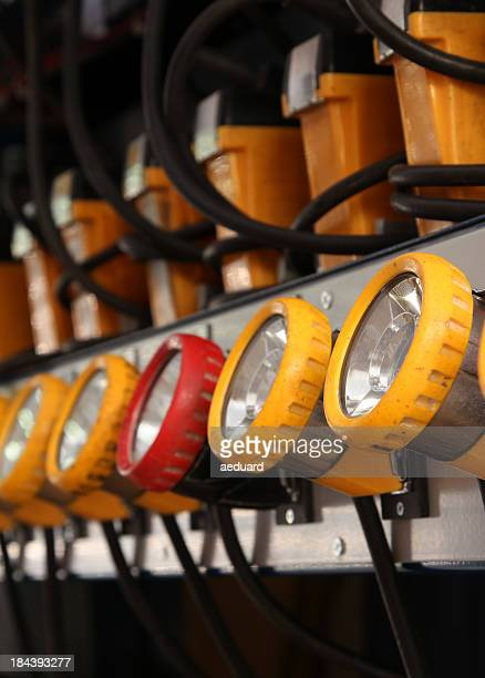 Led headlamps for mining
