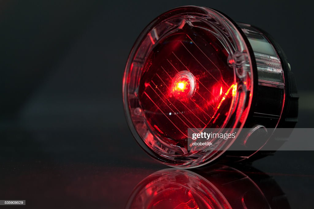 led lights for bicycle : Stock Photo