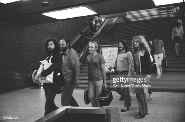 Led Zeppelin at Kyoto Station September 25th 1971